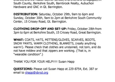 Outerwear Clothing Drive